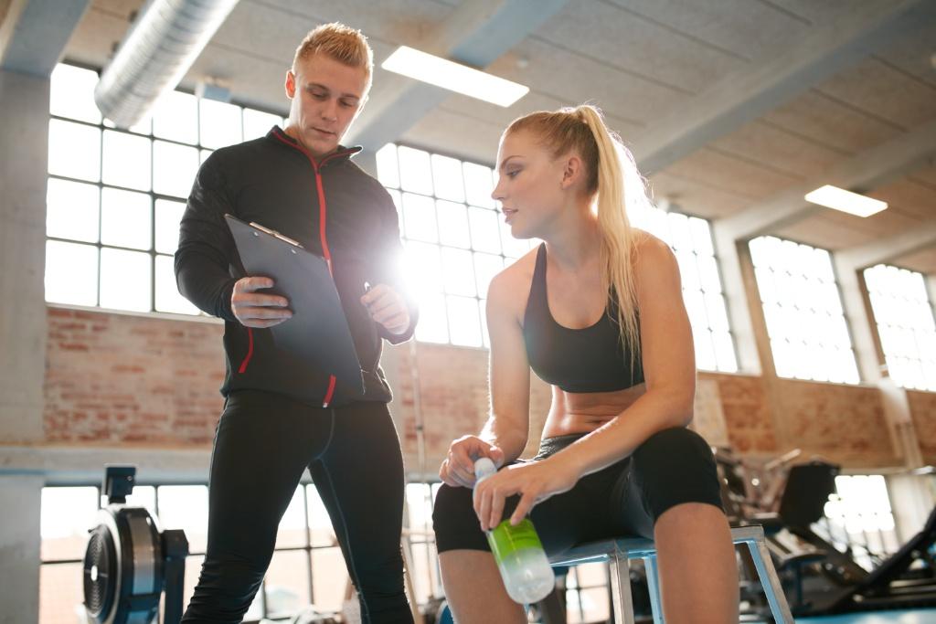 Ćwiczenia z trenerem personalnym